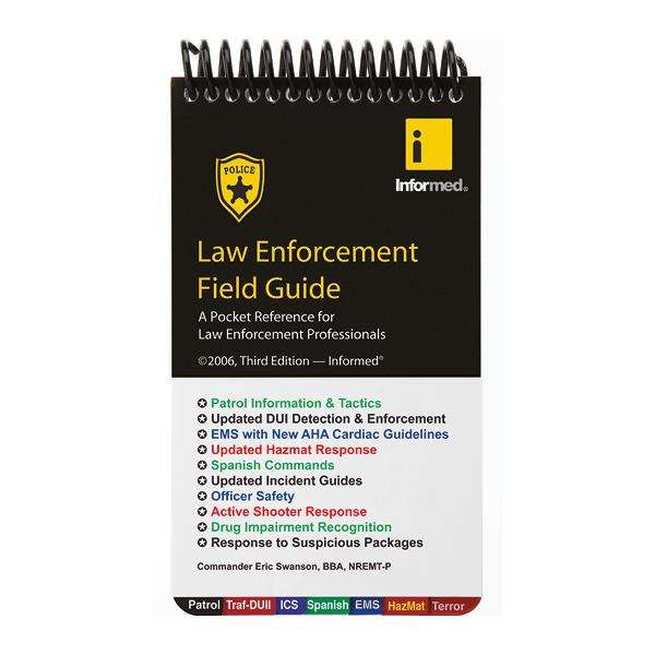 Law-enforcement-field-guide-third-edition
